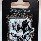 Disney Parks Maleficent Faces Collage in Frame Pin