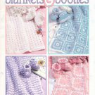 Leisure Arts Blankets and Booties 8 Designs to Crochet