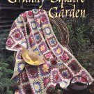 Leisure Arts Granny Square Garden 7 Afghans to Crochet