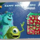 Disneyland Happy Holidays 2014 Monsters Inc. Gift Box Pin Boo Limited Edition 1500