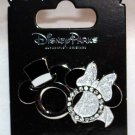 Disney Parks Mickey Mouse and Minnie Mouse Icon Wedding Rings Pin