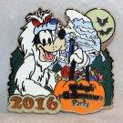 Disneyland Mickey's Halloween Party 2016 Pin Goofy at the Matterhorn Ltd Edition 1000