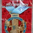 Disneyland runDisney Pixar Half Marathon Weekend 2017 Half Marathon Ribbon Medal Pin