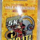 Disneyland runDisney Pixar Half Marathon Weekend 2017 5K I Did It Pin