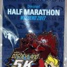 Disneyland runDisney Pixar Half Marathon Weekend 2017 5K Pin