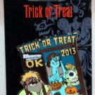 Disney Trick or Treat 2013 Pin Monsters University Mike Sulley and Don Carlton Limted Edition 3000
