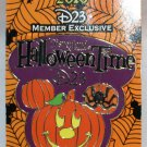 Disneyland Halloween Time 2010 D23 Exclusive Pin Mickey Mouse Pumpkin Ltd Ed 2000