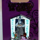 Disney All Tricks No Treats 2014 Pin Hades, Pain and Panic Limited Edition 3000