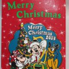 Disney Merry Christmas 2015 Pin Mickey Minnie Pluto Limited Edition 2000