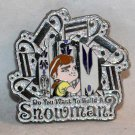 D23 Expo 2015 Disney Dream Store Music of Frozen Pin Build a Snowman Limited Edition 500