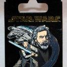 Disney Parks Star Wars The Last Jedi Rey and Luke Pin