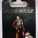 Disney Parks Star Wars The Last Jedi Poe and BB-8 Pin