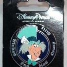 Disney Parks Mad Hatter Attributes Spinner Pin