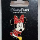 Disney Parks Minnie Mouse with Jeweled Dress and Bow Pin