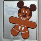 Disney Season's Eatings 2015 Gingerbread Cookie on Baking Sheet Pin Completer 2 Mickey Ltd Ed 1200