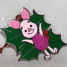 Disney Woodland Winter Mystery Reveal-Conceal Pin-Ornament Piglet Limited Release