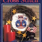 Leisure Arts Cross Stitch The Magazine August 1992 Issue 22 Projects Knitting Crochet