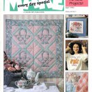 Leisure Arts Make Every Day Special Magazine April 1995 26 Projects Cross Stitch Crochet