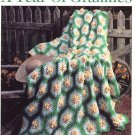 Leisure Arts A Year of Grannies 12 Afgans to Crochet in Worsted Weight Yarn