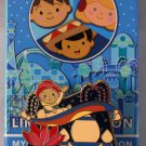 Disneyland Happy Holidays It's A Small World Mystery Pin Collection India Limited Edition 200