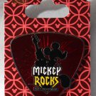 Walt Disney World Mickey Rocks Rock N Roller Coaster Guitar Pick-Shaped Pin