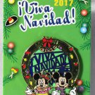 Disneyland Viva Navidad 2017 Pin Mickey and Minnie Limited Edition 4000