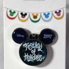 Disneyland Festival of Holidays 2017 Mickey Icon Pin Limited Release