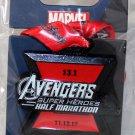 Disneyland runDisney Super Heroes Half Marathon Weekend 2017 Avengers HM Ribbon Medal Pin Limited