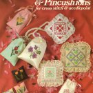 Leisure Arts Sachets and Pincushions 16 Designs to Cross Stitch or Needlepoint