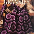 Leisure Arts Afghans by the Dozen Grannies 12 Designs to Crochet