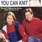 Leisure Arts Sweaters You Can Knit 16 Designs in 10 Sizes