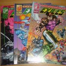 Exiles #1, 2, 4 lot