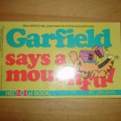 Garfield Says a Mouthful Book by Jim Davis 21st Book 1991 Ballantine
