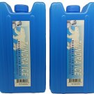 Ice Pack Hidden Secret Booze Alcohol Spirits Flask Two Pack - 14oz Capacity Food Grade Material