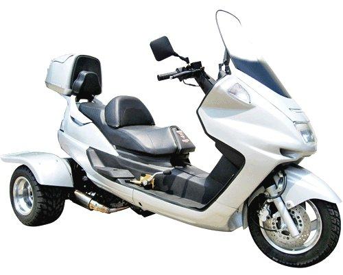 150cc Trike Moped w/Trunk Model tes-9p1509 Price 700usd