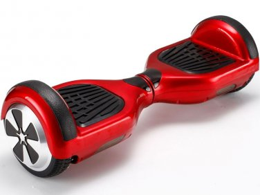 ELECTRIC SELF-BALANCING SCOOTER HOVERBOARD RED Price 55usd