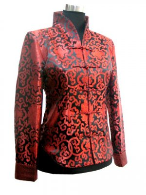 Red and Black Jacket