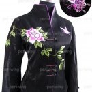 Black Flowered Jacket