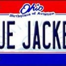 "NHL Blue Jackets Vanity License Plate Tag  6""x 12"" Metal Auto Stanley New Wall"