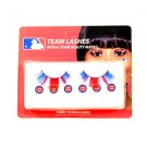 MLB Chicago Cubs Eyelash Extension Little Earth Decal Beauty Blue Wrigley Nip