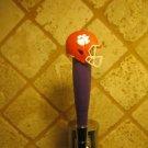 Clemson Tigers BEER TAP HANDLE KEGERATOR Purple Football Helmet Bar Sport NCAA