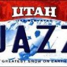 NBA Utah Jazz Vanity License Plate Tag Vintage Metal  Auto Malone  Decor New