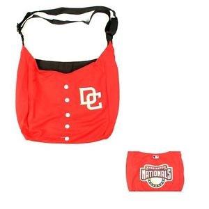 MLB Washington Nationals Jersey Tote Bag Red Purse Harper Shoulder  Strap logo