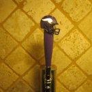 Minnesota Vikings  BEER TAP HANDLE KEGERATOR  Football Helmet Bar NFL Sport Brew