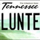 NCAA Volunteer Vanity License Plate Tag  Vintage Tenneessee Team Metal Auto
