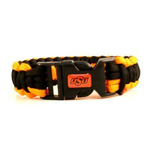 Oklahoma State Cowboys Survival Bracelet NCAA Paracord Survivor Strap Football