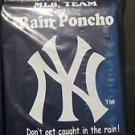 MLB  Yankees Team Rain Poncho - New York  Baseball-2 Pack New Black Bronx A Rod