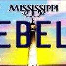 "NCAA Ole Miss Team Vanity License Plate Tag 6""x12"" College Rebels Metal Auto"