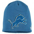 Detriot Lions Beanie Big Logo New Light Blue Ski Cap Beanie Hat NFL Team Apparel