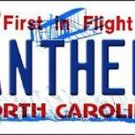 Nfl Panthers Carolina State Background  Metal License Plate Tag Cam 12 x 6 New